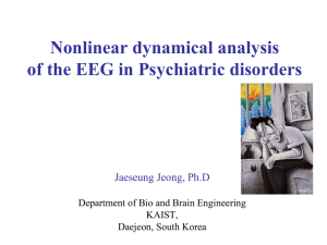 EEG dynamics of Alzheimer`s disease