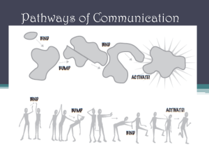 Pathways of Communication