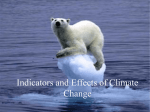 Indicators and Effects of Climate Change File
