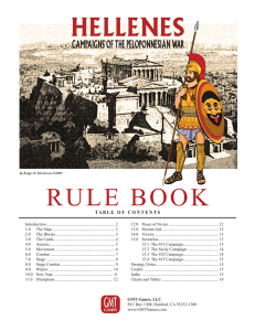 RULE BOOK - GMT Games