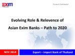- Asian EXIM Bank Forum