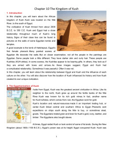 Chapter 10 The Kingdom of Kush