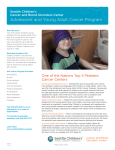 Adolescent and Young Adult Cancer Program