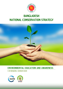 BANGLADESH NATIONAL CONSERVATION STRATEGY