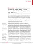 Translational genetics: Mining electronic health records: towards