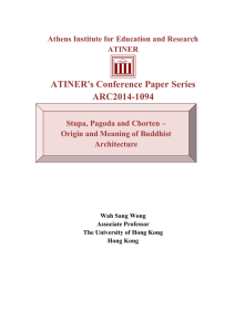 ATINER`s Conference Paper Series ARC2014-1094