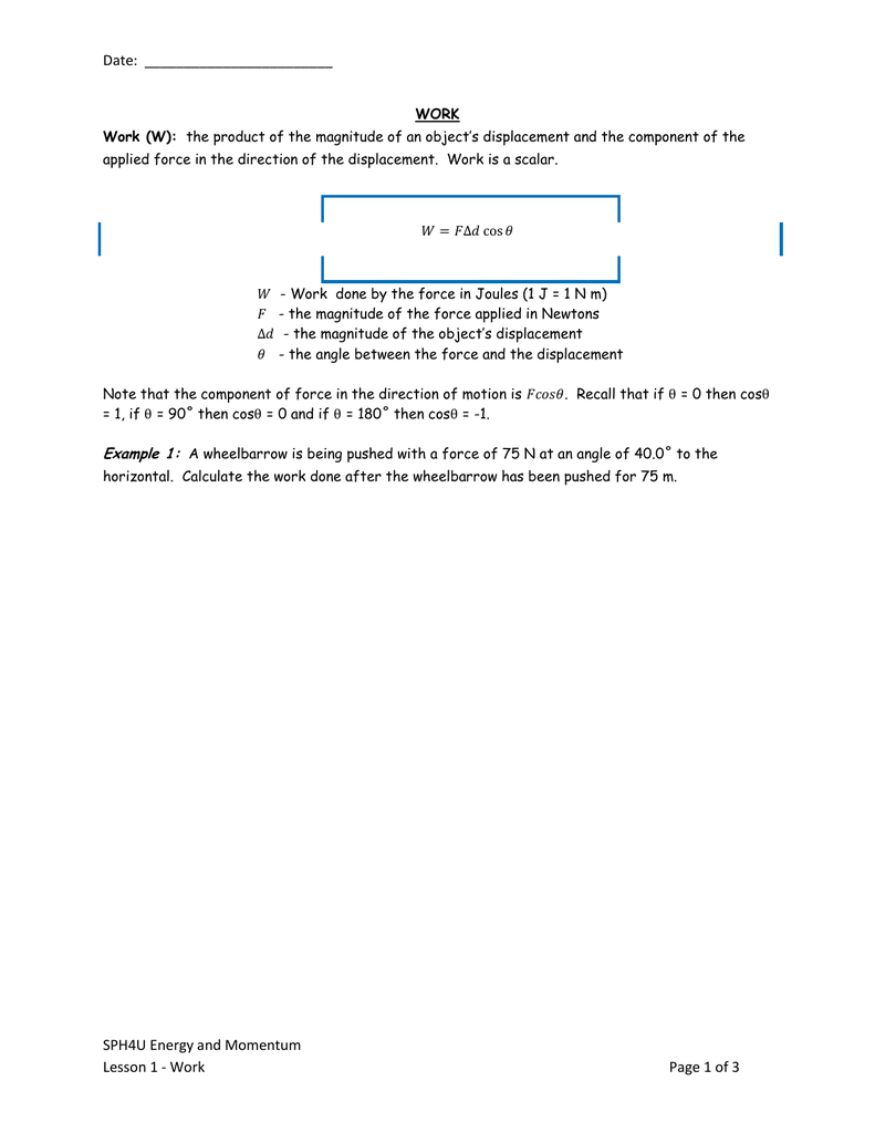 sph4u final exam review multiple choice questions