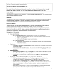 Therapeutic Decision Making Exam information sheet for candidates
