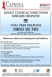 Adult clinical infectious diseases helpline