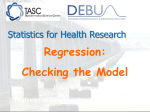 Regression_checking the model