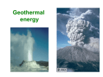 geothermal energy - Department of Physics | Oregon State