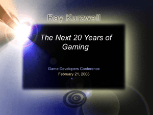 The Next 20 Years of Gaming