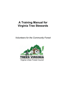 A Training Manual for - McLean Trees Foundation