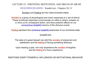 LECTURE23.EmotionDriveDrugs