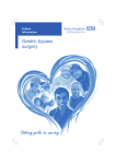 Gastric bypass surgery - Derby Teaching Hospitals NHS Foundation
