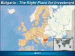 Bulgaria - right place for auto parts manufacturing