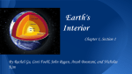Earth`s Interior - Newton.k12.ma.us