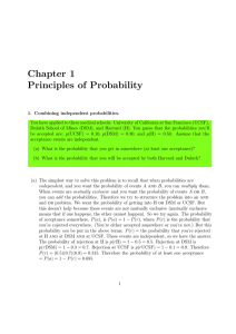 Chapter 1 Principles of Probability