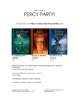 Percy Party Event Guide