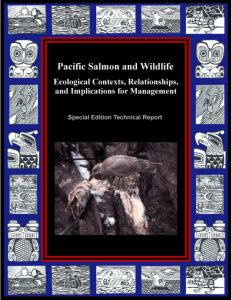 WDFW Pacific Salmon and Wildlife