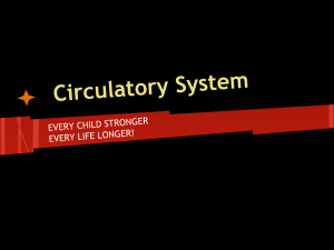 Circulatory System - River Vale Schools
