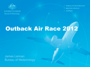 presentation - Outback Air Race