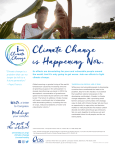 I am Climate Change One Pager - CRS University