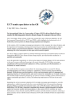 IUCN sends open letter to the G8