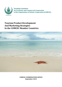 Tourism Product Development And Marketing Strategies In