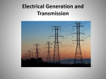 Electrical Generation and Transmission
