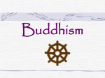 Buddhism… - Western School District