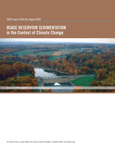 U.S. Army Corps of Engineers Reservoir Sedimentation in the