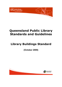 Library buildings standard (PDF 50 KB)