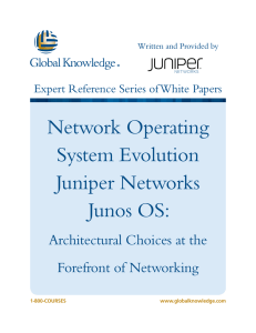 Network Operating System Evolution