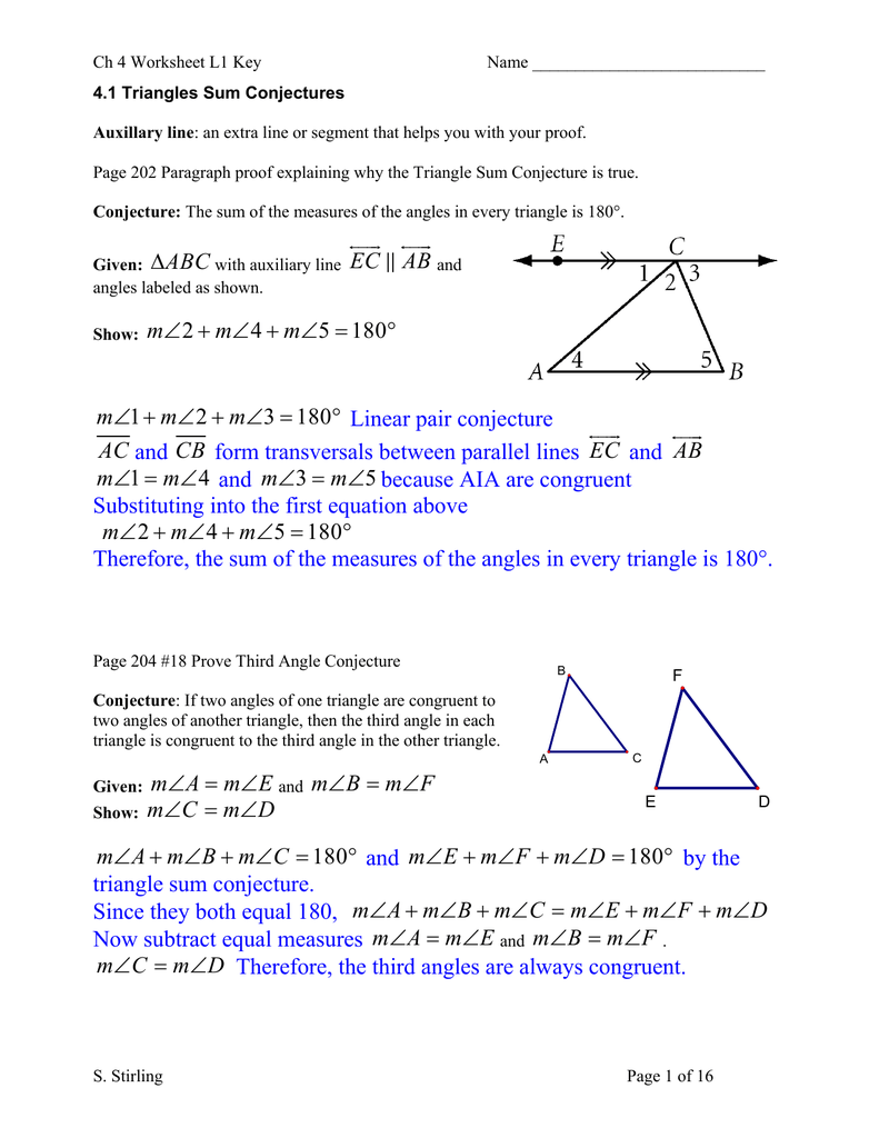 Worksheet Angles Of A Triangle Worksheet Grass Fedjp Worksheet Study Site