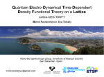 Quantum Electro-Dynamical Time-Dependent Density Functional