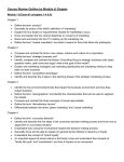 IUS Marketing On line Review Outline Final