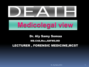 DEATH MCST presentation 14 DEC 2014