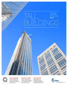 TALL BUILDINGS - The Concrete Centre