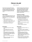 Skin Cancer - Spanish - Health Information Translations