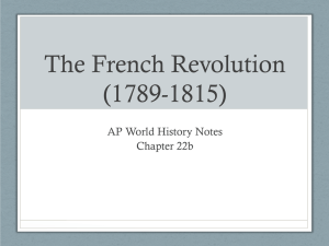 The French Revolution - Mat