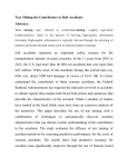 Text Mining the Contributors to Rail Accidents Abstract: Text mining