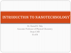 and Nanotechnology