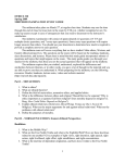 ETHICS 320 Spring 2009 MIDTERM EXAMINATION STUDY GUIDE