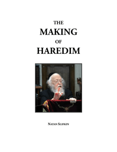 The Making of Haredim