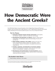 How Democratic Were the Ancient Greeks?