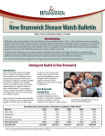 New Brunswick Disease Watch Bulletin