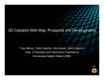 3D Cadastre Web Map: Prospects and Developments