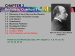 CHAPTER 3: The Experimental Basis of Quantum