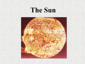 The Sun - TutorPlus